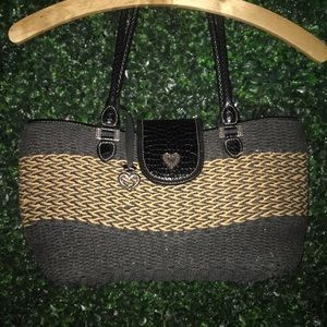 Brighton collectibles straw handbag